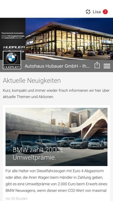 Autohaus HubauerScreenshot von 1