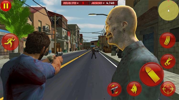 Zombie Survival War Hero screenshot-6