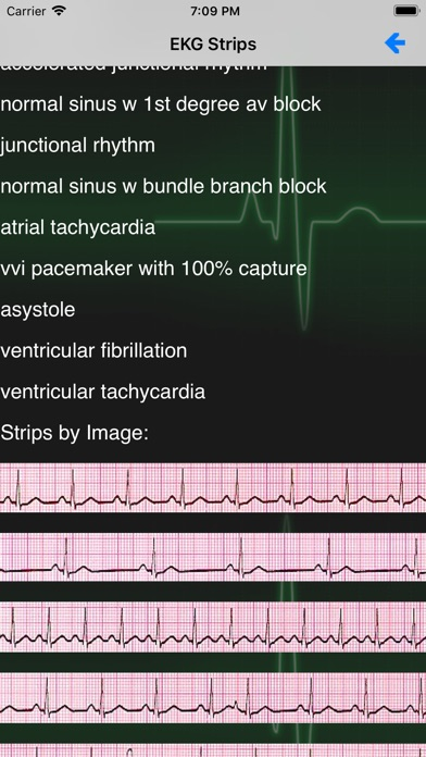Screenshot for EKG Academy in Denmark App Store