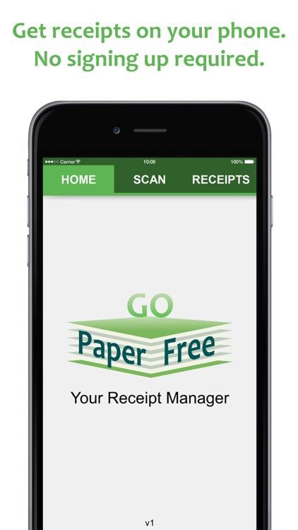 Go Paper Free