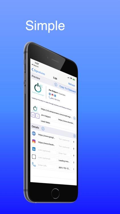 Email Signature Pro screenshot-0