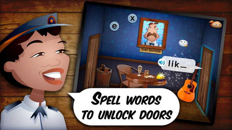 Mystery Word Town Spelling screenshot-1