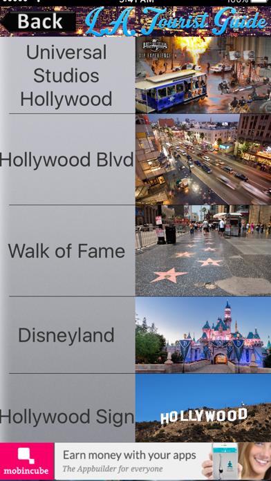 Los Angeles Tourist Guide screenshot four