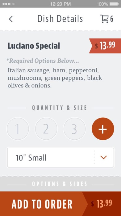 Luciano's Pizza Seattle screenshot 4