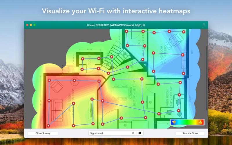 Wifiner - WiFi Analyzer Screenshots