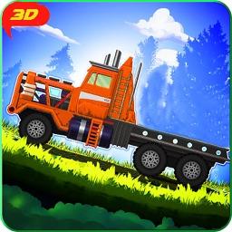 Hilly Cargo Truck 3D
