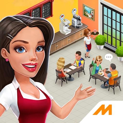 マイカフェ:レシピ&ストーリー。レストラン経営ゲーム