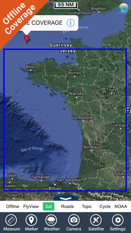 France Atlantic HD GPS charts screenshot-4