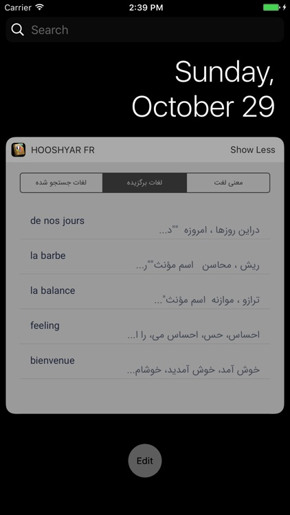 Hooshyar French Dictionary screenshot-4