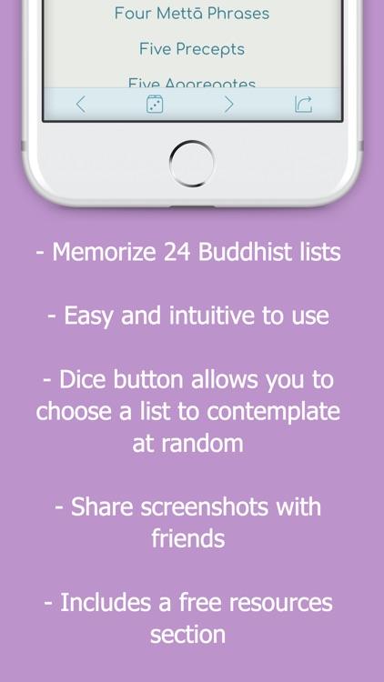 Buddhist Lists screenshot-3