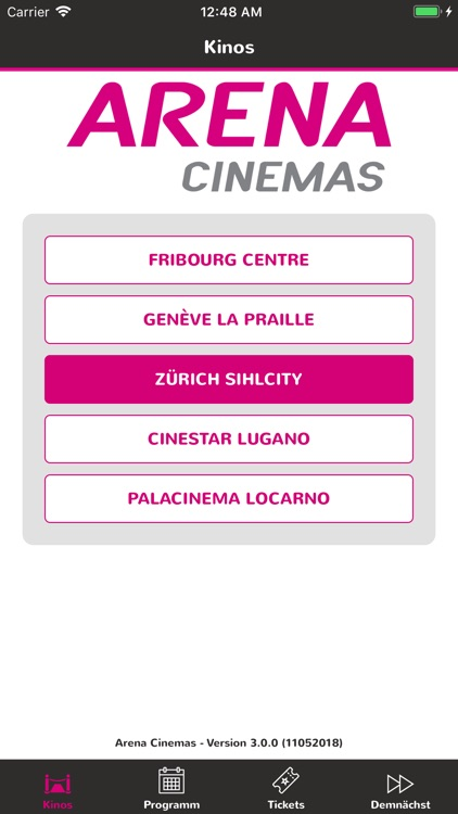 Arena Cinemas screenshot-0