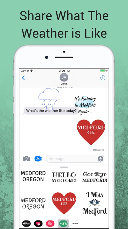 Medford Oregon Sticker App screenshot-1