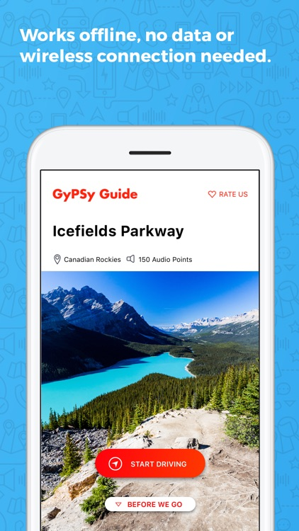 Icefields Parkway GyPSy Guide screenshot-2
