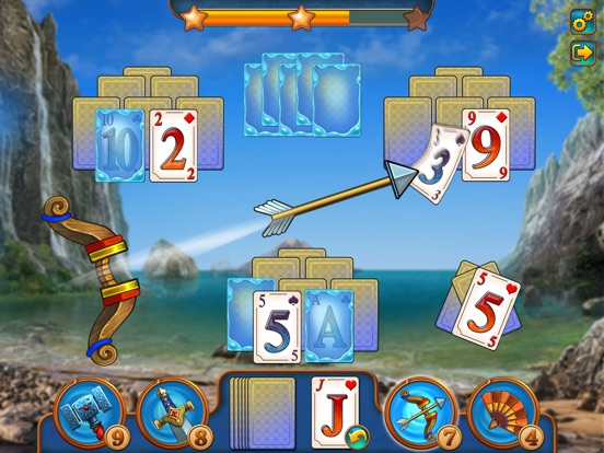 Magic Tri Peaks Solitaire Скриншоты7