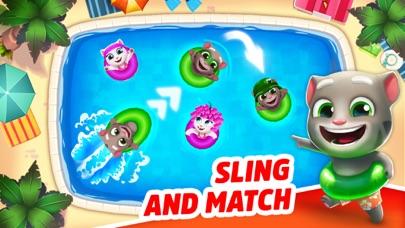 Talking Tom Pool - Puzzle Game screenshot 1