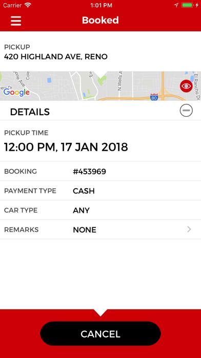 Reno Sparks Cab screenshot four