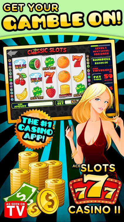 Ace Slots Machine Casino II screenshot-0