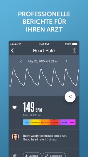 Instant Herzfrequenz+ Screenshot