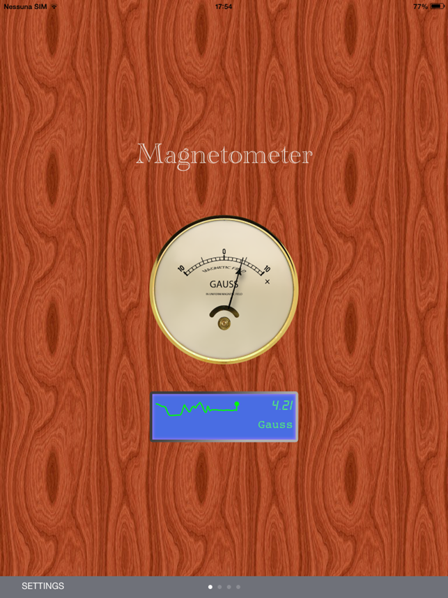 ‎Magnetometro Screenshot