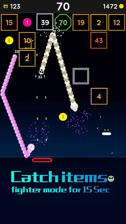 Snake Bricks-Bounce Balls screenshot-6