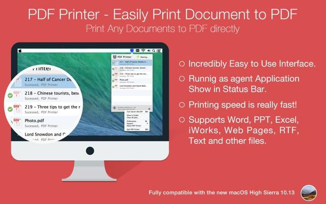 virtual pdf printer driver for mac