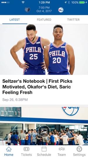 Philadelphia 76ers on the App Store