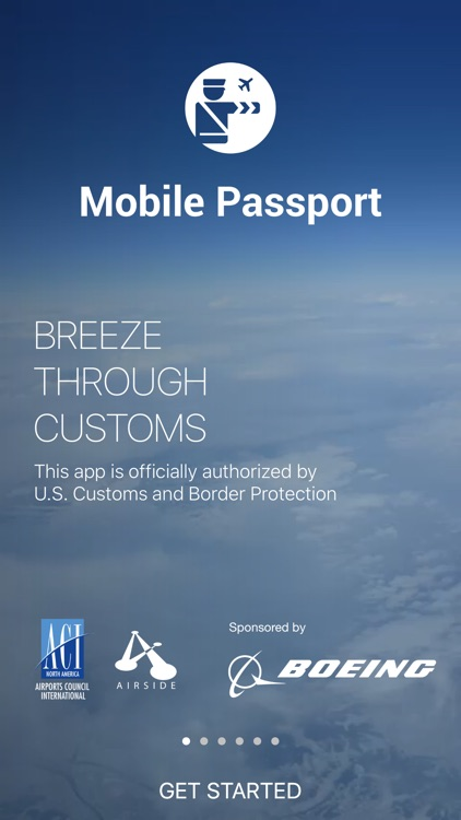 Mobile Passport - Officially Authorized by CBP
