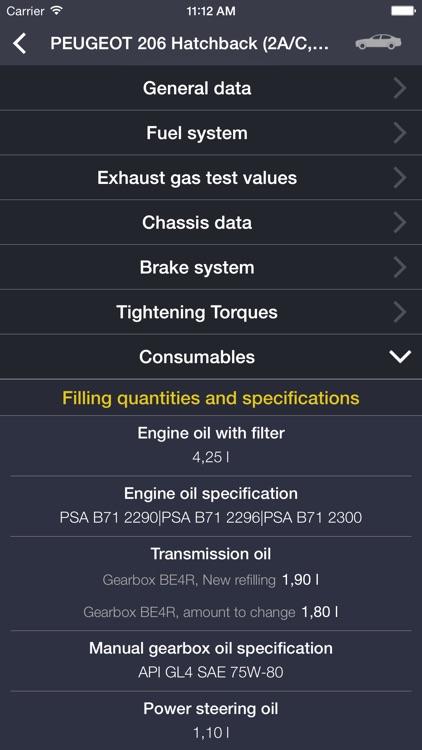 TechApp for Peugeot screenshot-4