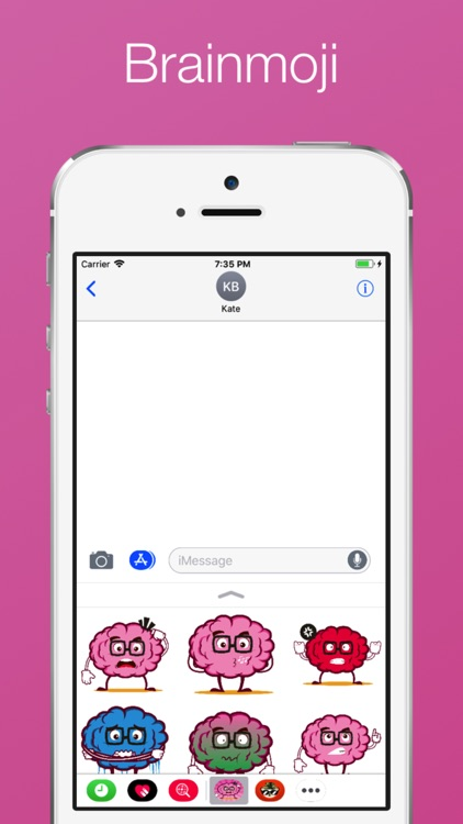 Brain emoji Stickers