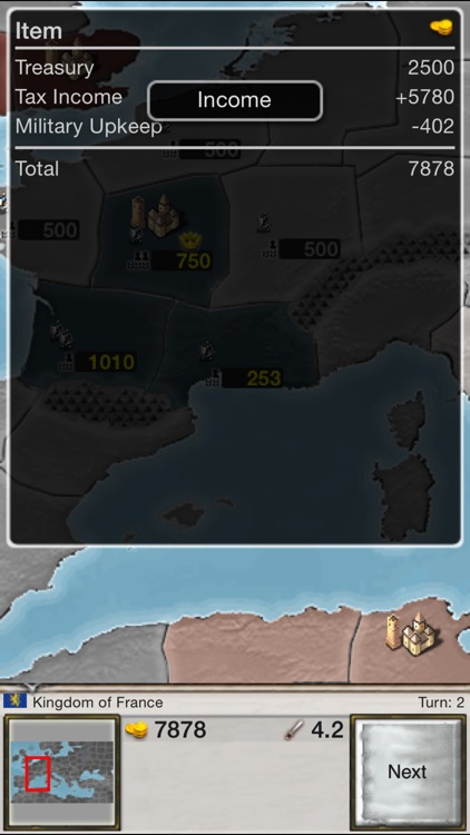 Age of Conquest: Europe screenshot-3