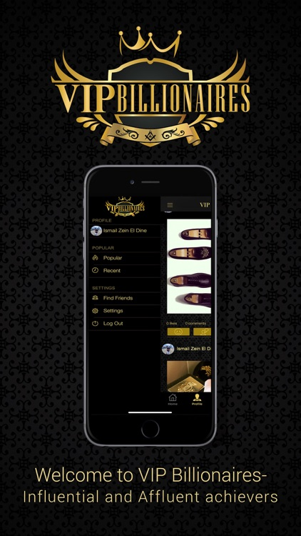 VIP Billionaires - Social Chat screenshot-3