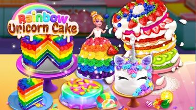 Rainbow Unicorn Cake MakerCaptura de pantalla de1