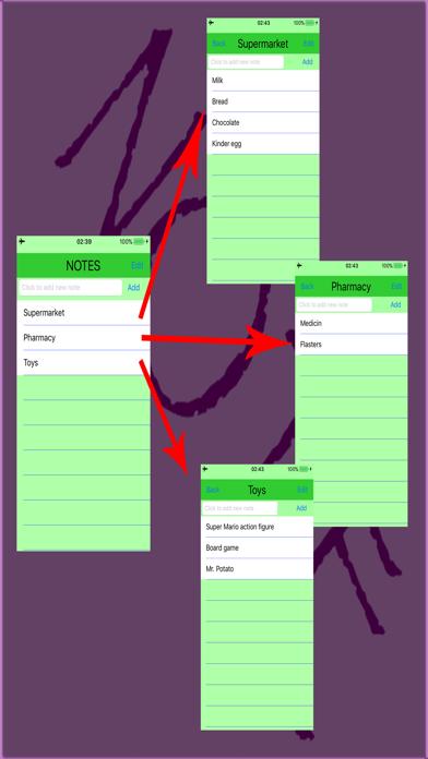 Todo Notes List screenshot three