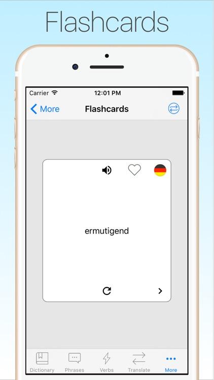 German Dictionary & Translator + screenshot-4