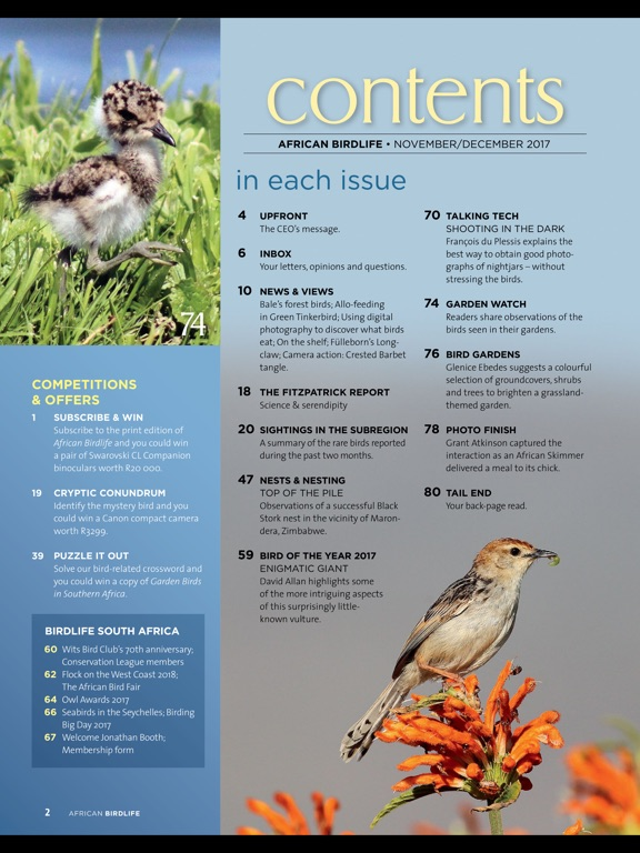 African Birdlife (Magazine) screenshot 7