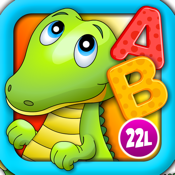 Alphabet Aquarium School Adventure Vol 1: Teachme Letters - Animated Puzzle Games for Preschool and Kindergarten Explorers by 22learn icon