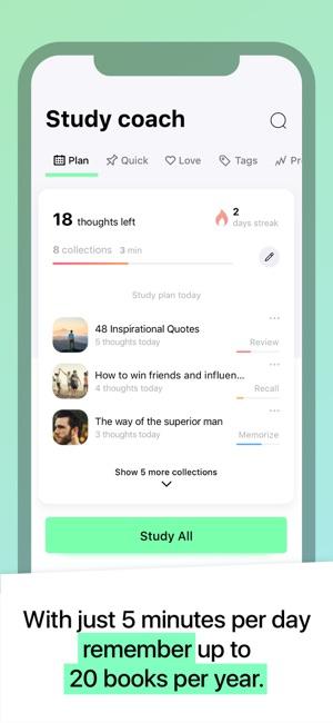 MindZip read & learn summaries on the App Store