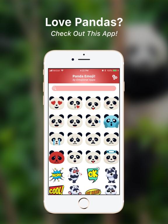 Panda Emoji! Screenshots