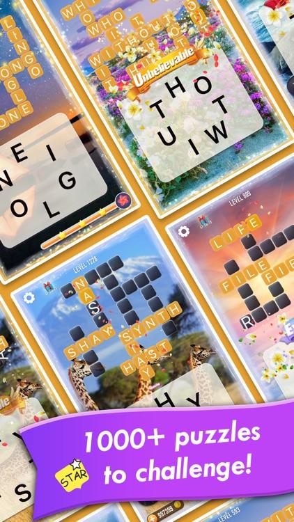 Word Crossy - A crossword game screenshot-0