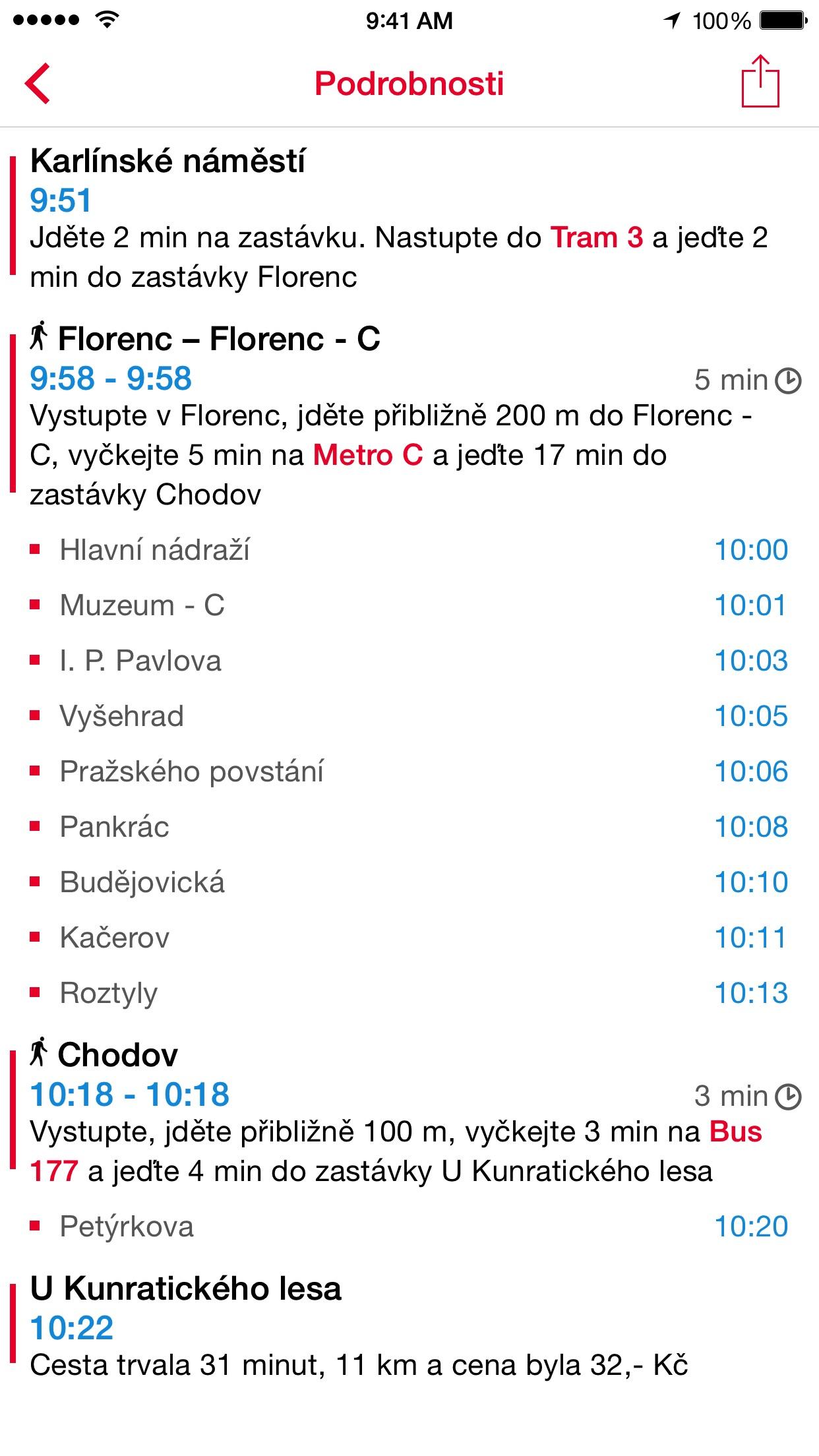 IDOS do kapsy Screenshot