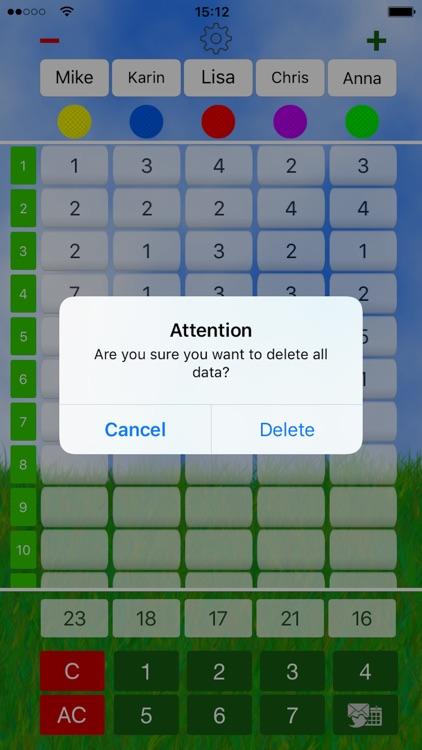 Mini Golf Score Card screenshot-4