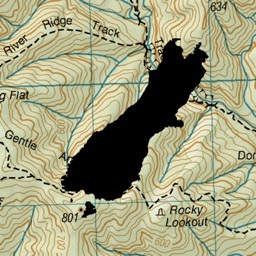 NZ Topo50 South Island