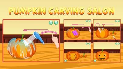 Pumpkin Carving Salon Sim screenshot two