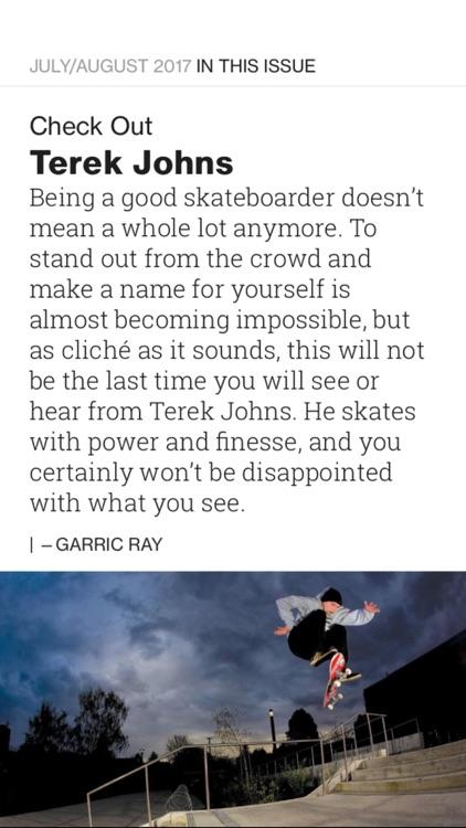 TransWorld Skateboarding Mag screenshot-4