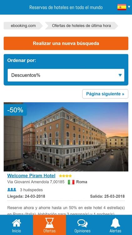 ebooking: Reserva de hoteles