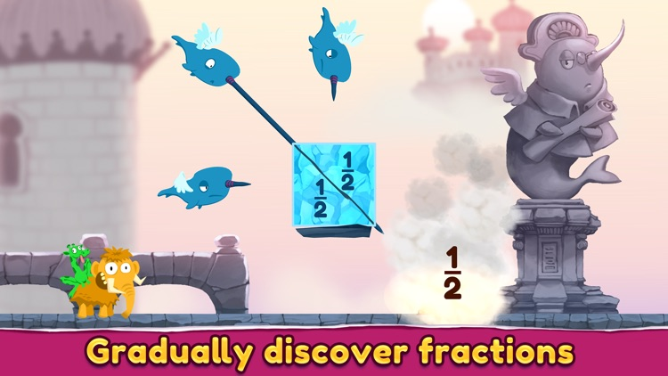 Slice Fractions 2 screenshot-1
