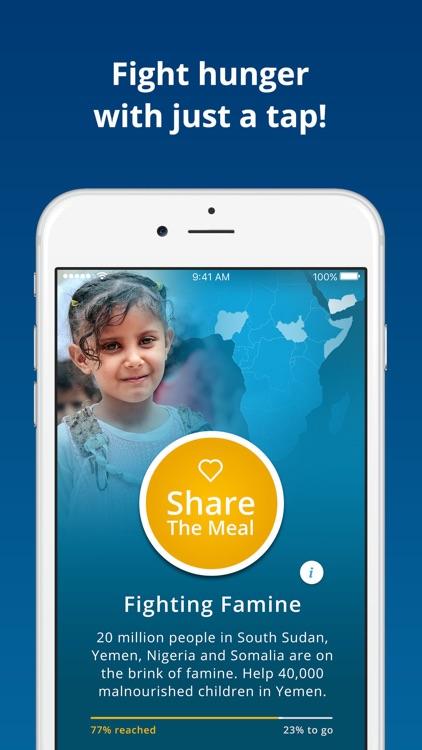 ShareTheMeal screenshot-0