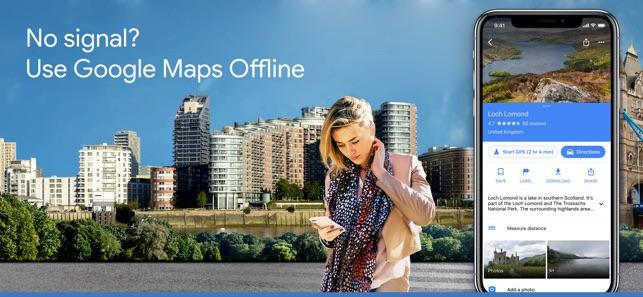Google Maps - Transit & Food Screenshot