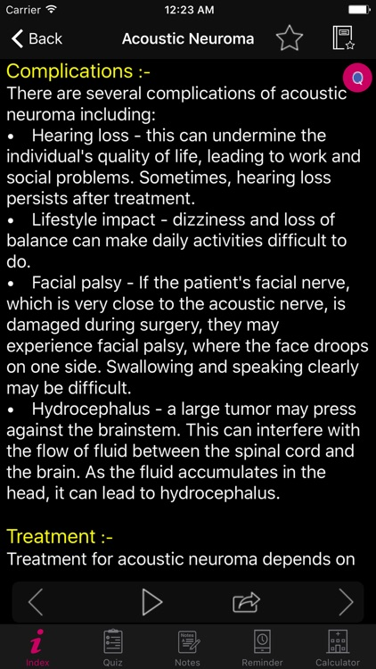Brain and Nerves Disease screenshot-5