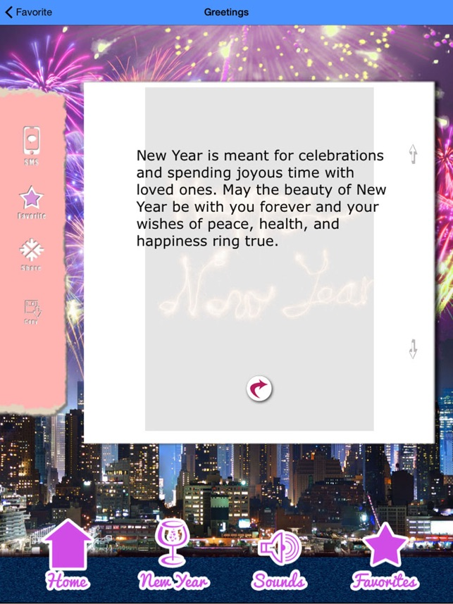 Happy New Year 2018 Greetings on the App Store